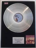 PINK FLOYD  -  LP Platinum Disc   -  ANIMALS